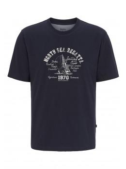 T-Shirt maritimer Druck