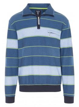 Troyer-Sweatshirt mit Ringeln