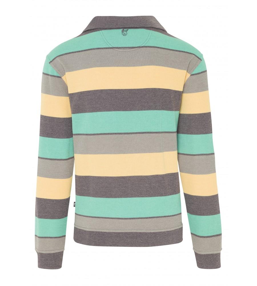 Troyer-Sweatshirt garngefärbt 26081-102 back