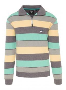 Troyer-Sweatshirt garngefärbt