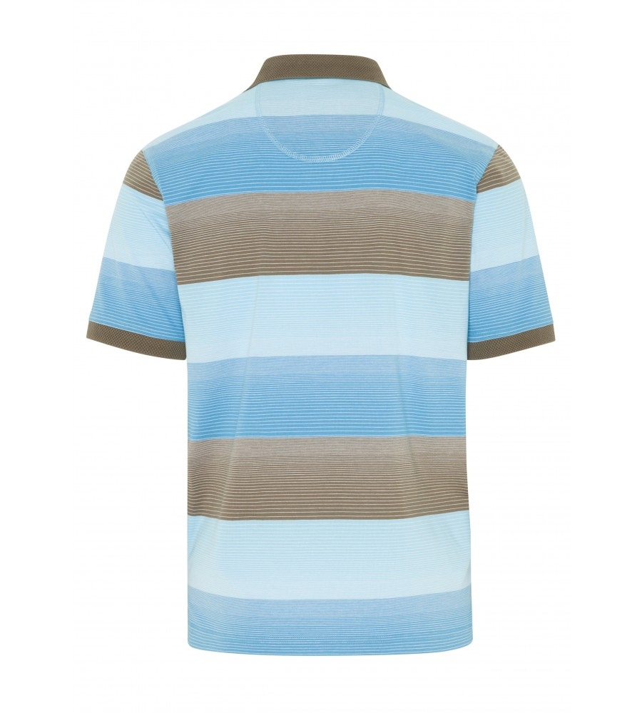 Poloshirt Strukturkragen 26114-606 back