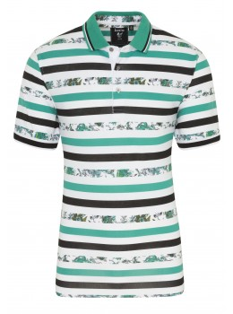 Pikee Poloshirt Allover-Print