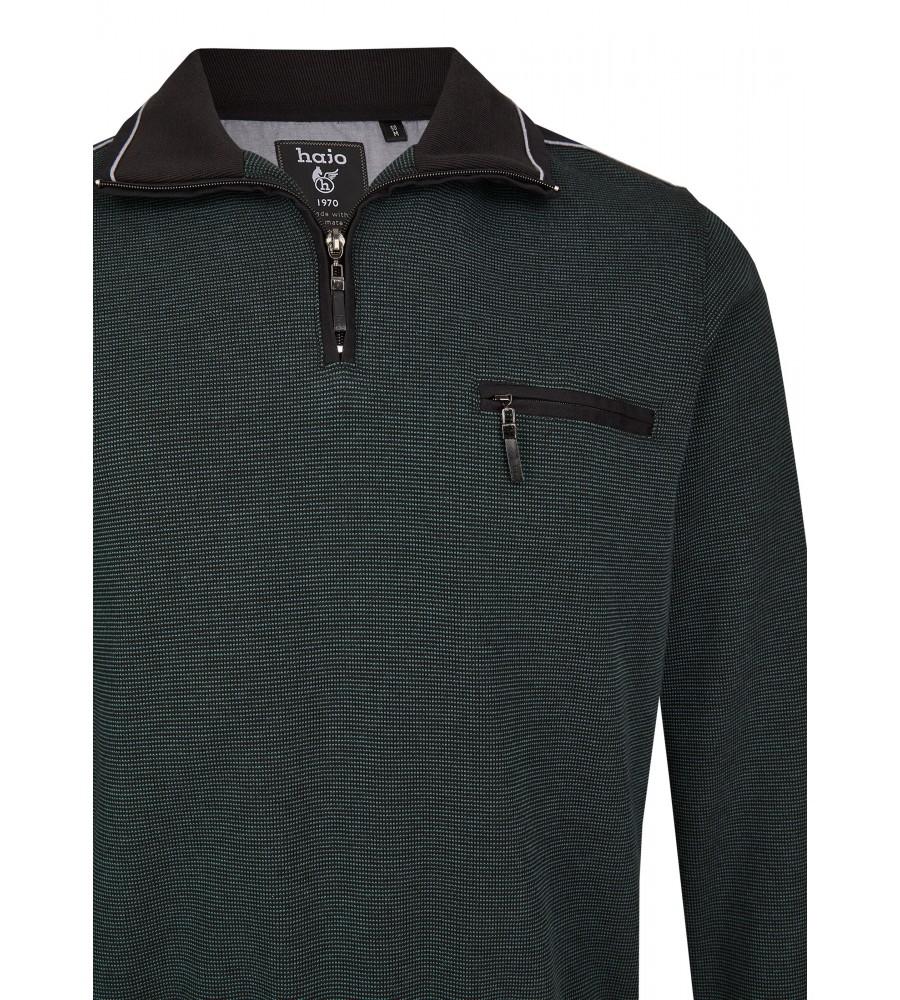 Sweatshirt mit Troyerkragen 26222-515 detail1