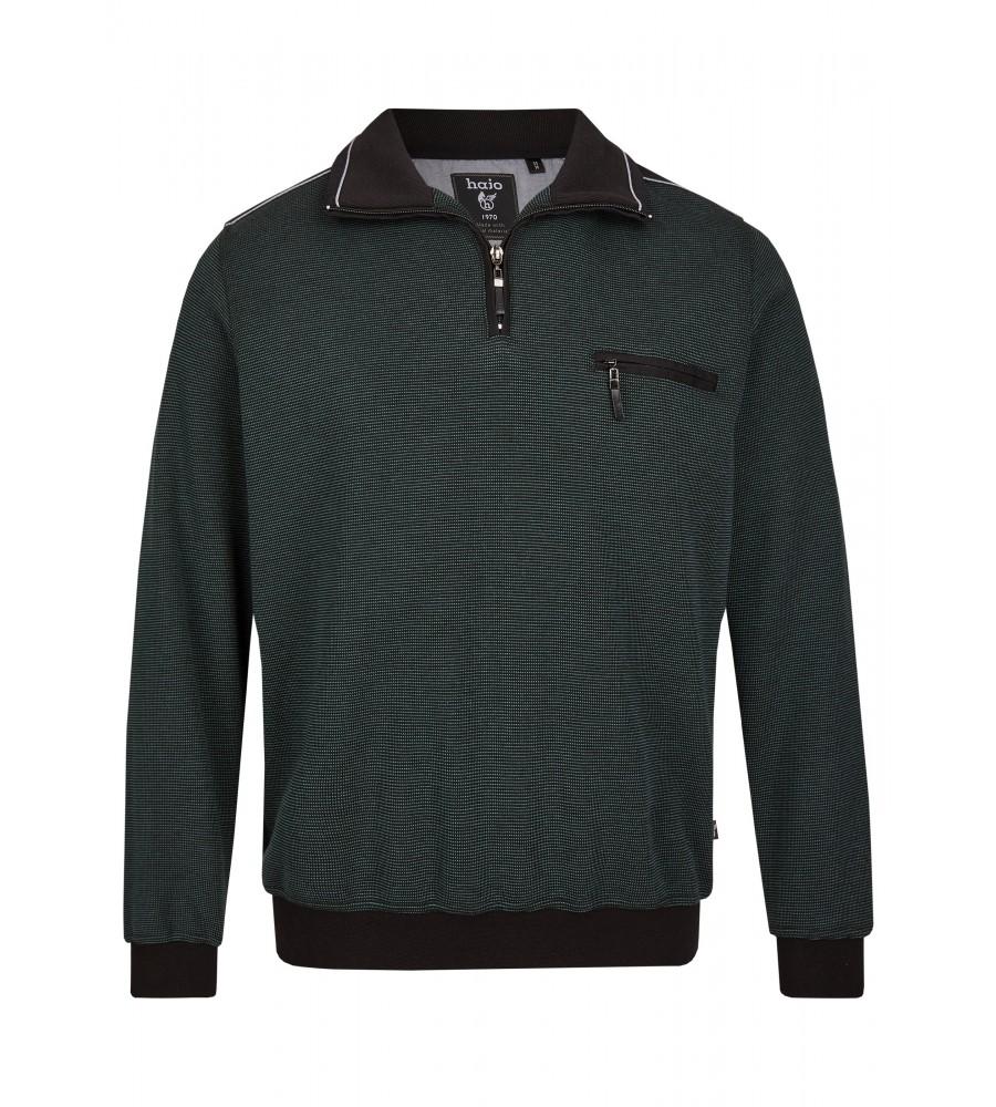 Sweatshirt mit Troyerkragen 26222-515 front