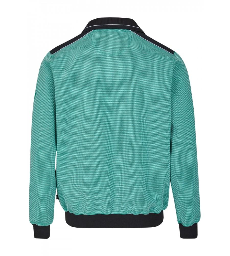 Sweatshirt mit Troyerkragen 26222-526 back