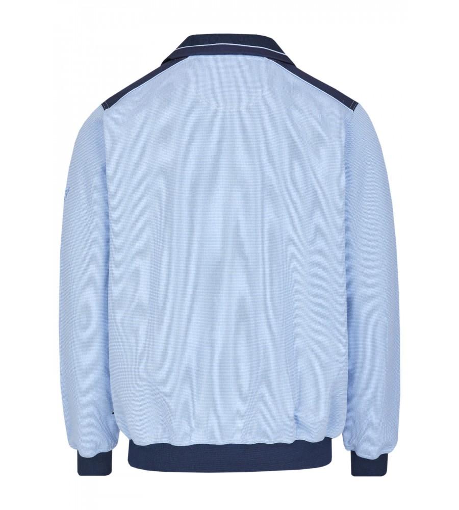 Sweatshirt mit Troyerkragen 26222-621 back