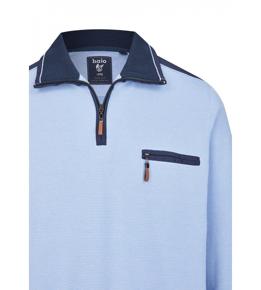 Sweatshirt mit Troyerkragen 26222-621 detail1