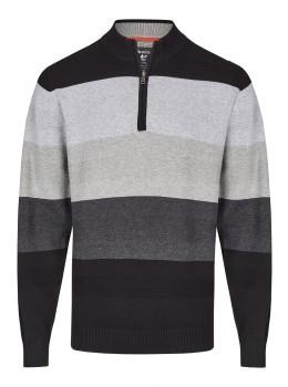 Pullover im Farbverlauf