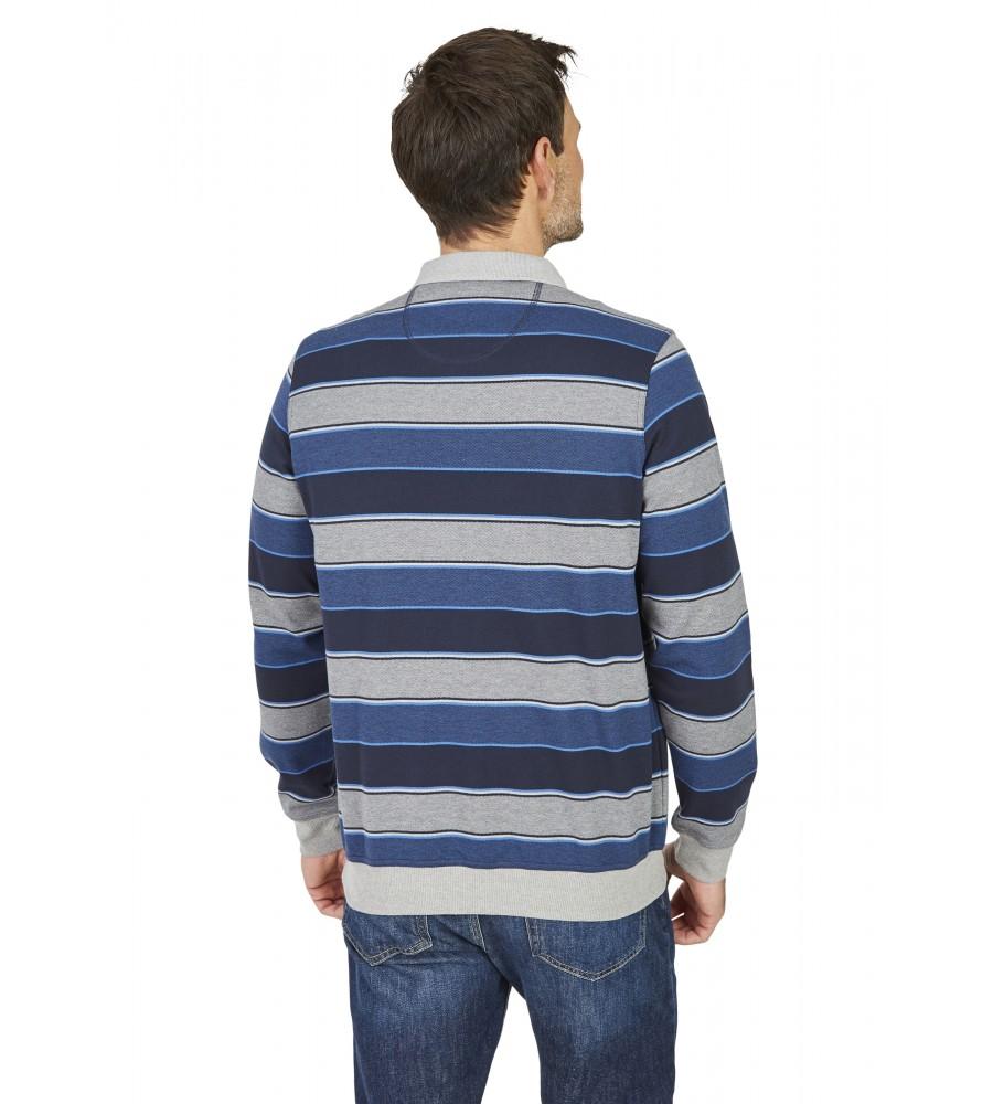 Polosweatshirt 26483-609 back