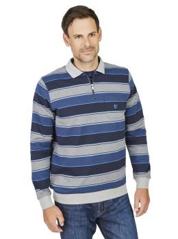 Polosweatshirt