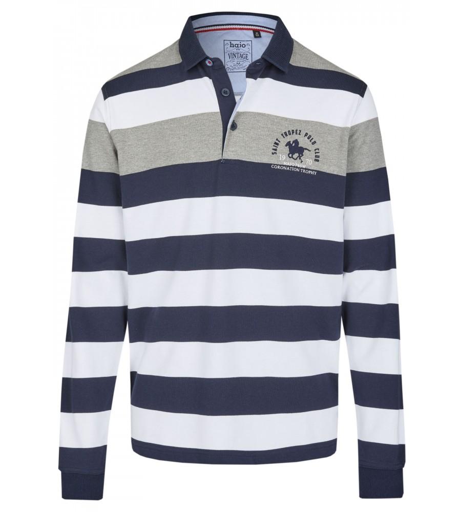 Rugbyshirt mit Polokragen 26612-200 front