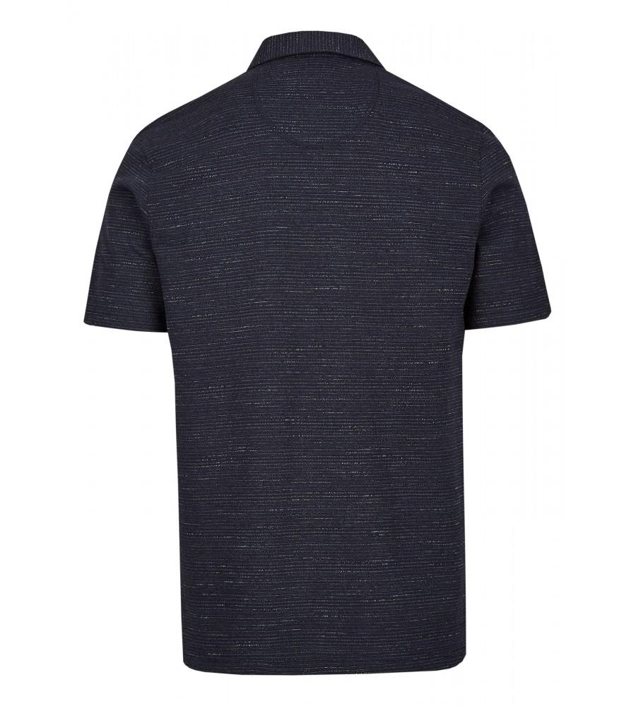 Jacquard-Poloshirt aus Effektgarn 26615-609 back
