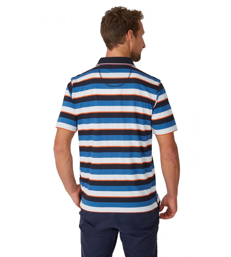 Poloshirt mit garngefärbtem Streifenverlauf 26618-609 back