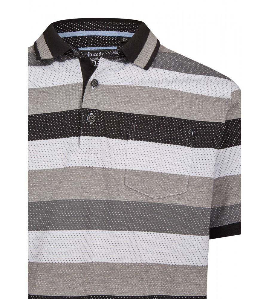 Jacquard-Poloshirt mit Blockringel 26619-100 detail1