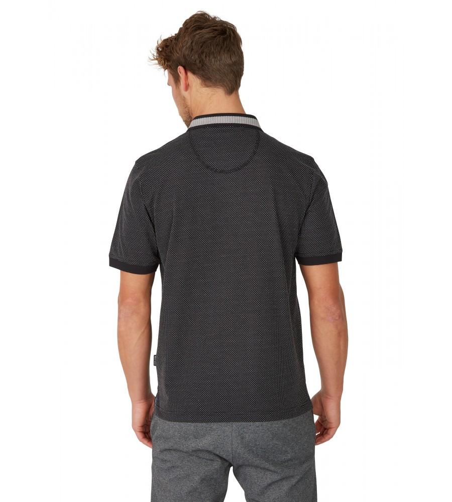 Jacquard-Poloshirt 26620-100 back