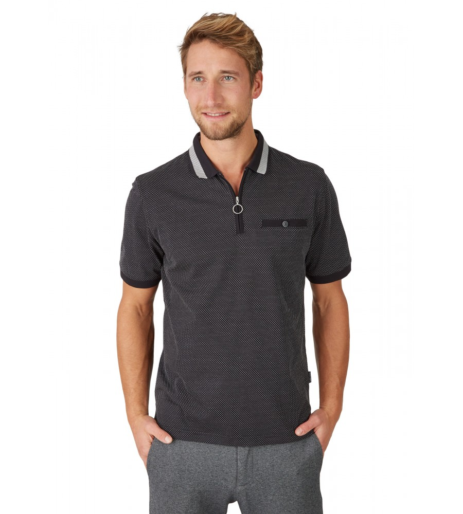 Jacquard-Poloshirt 26620-100 front