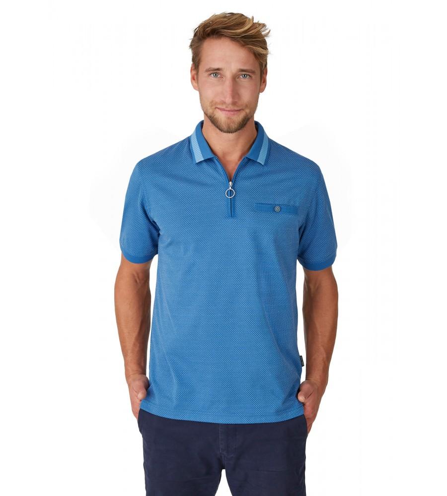 Jacquard-Poloshirt 26620-600 front