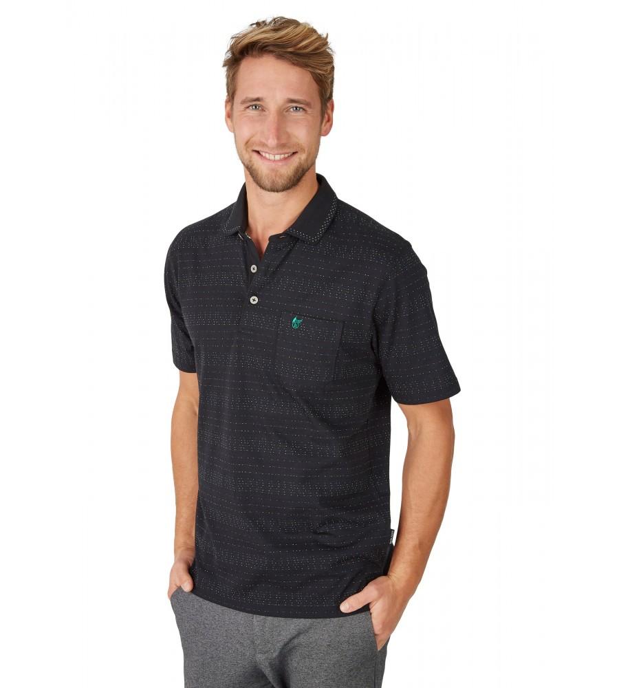 Jacquard-Poloshirt 26622-100 front