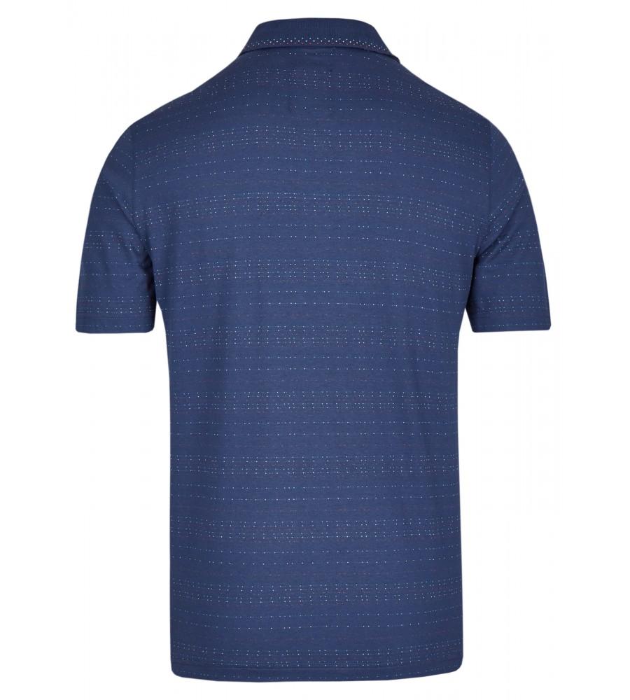 Jacquard-Poloshirt 26622-638 back