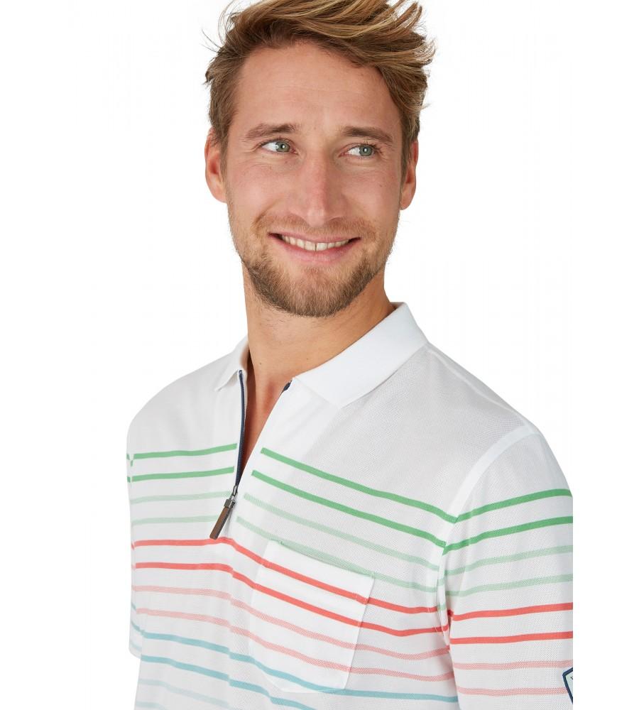 Pikee-Poloshirt mit Systemringel 26627-200 detail1