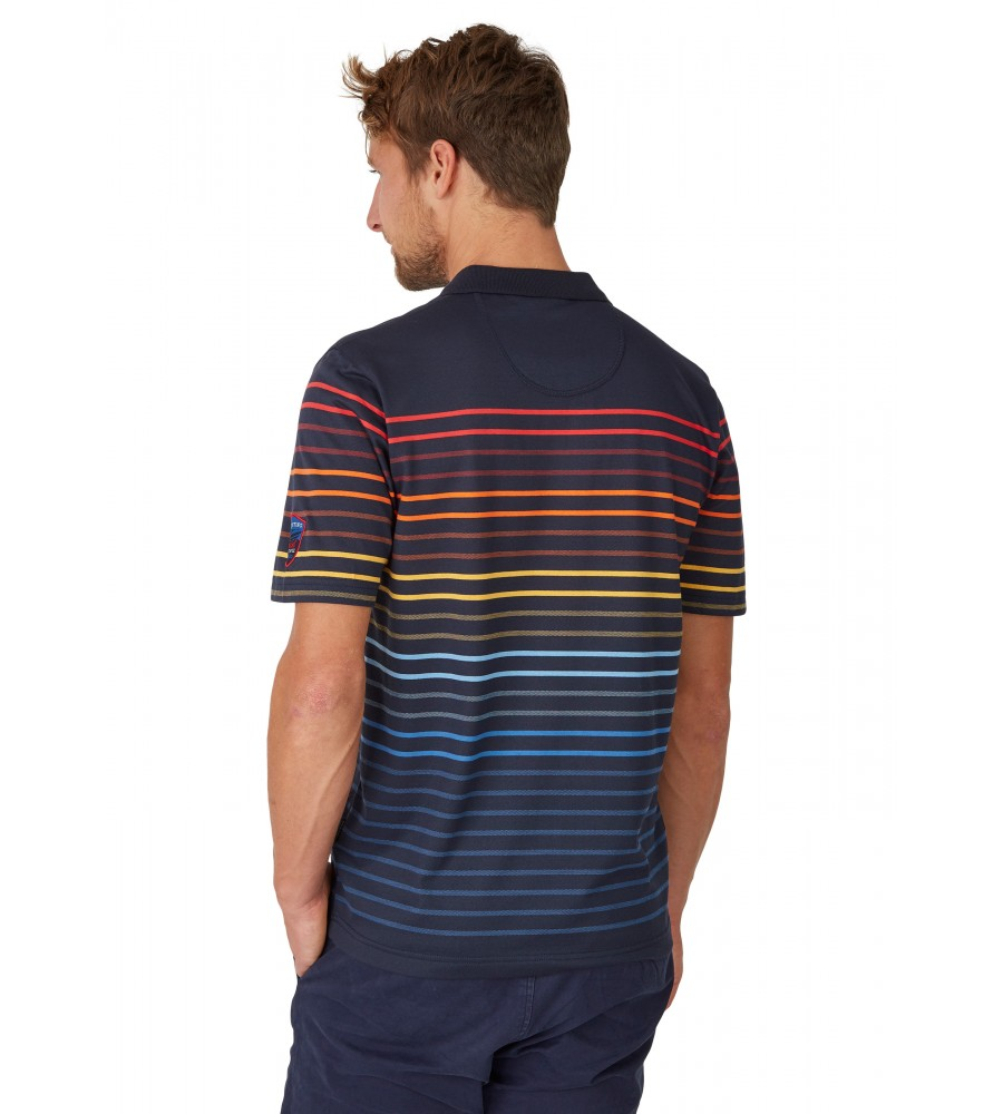 Pikee-Poloshirt mit Systemringel 26627-609 back