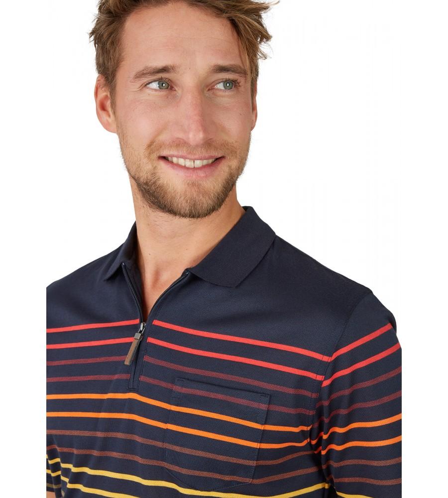 Pikee-Poloshirt mit Systemringel 26627-609 detail1