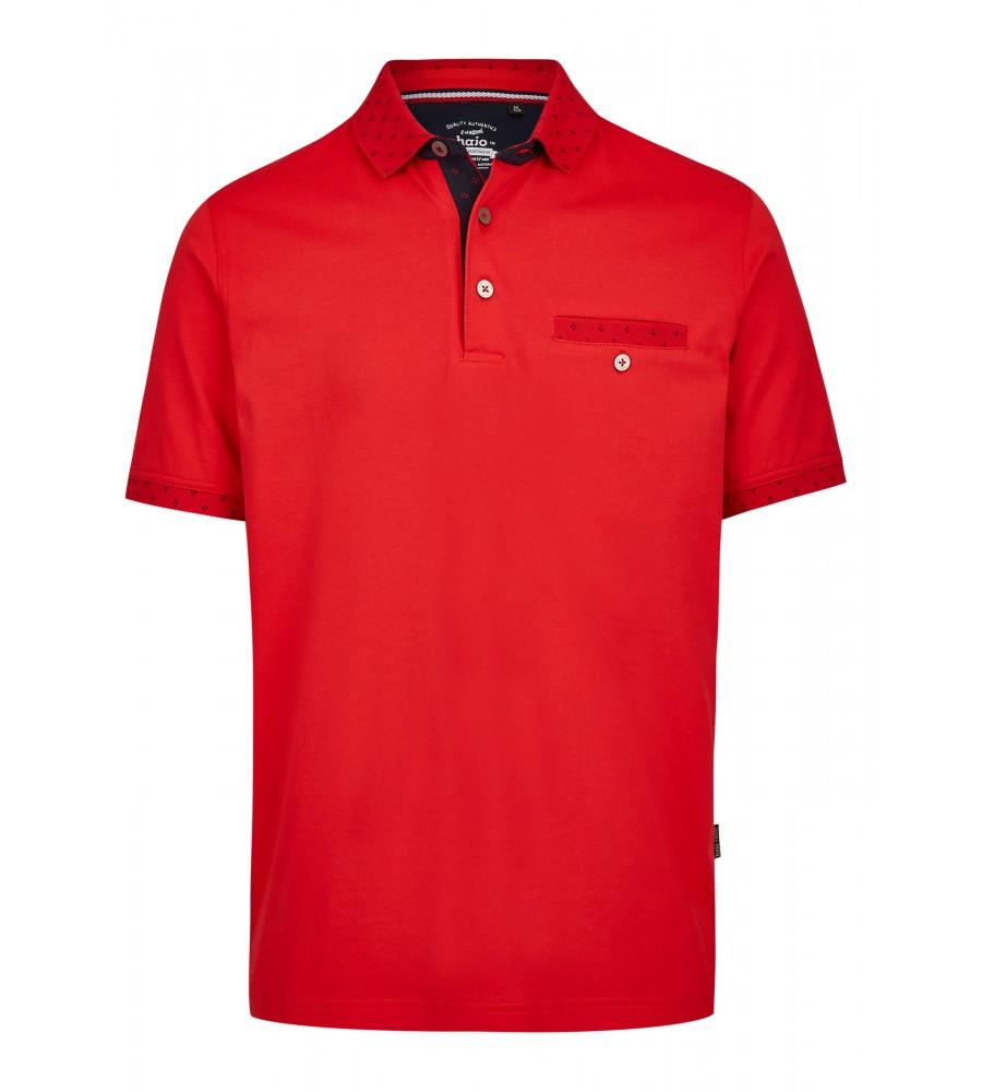 Poloshirt mit dezenten Details 26634-373 front