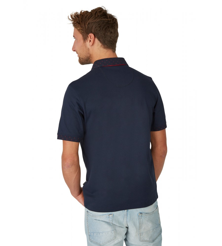 Poloshirt mit dezenten Details 26634-609 back