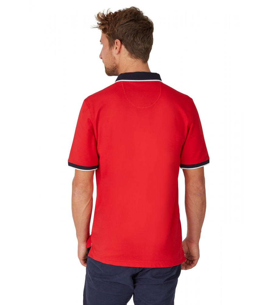 Sportliches Pikee-Poloshirt 26635-373 back