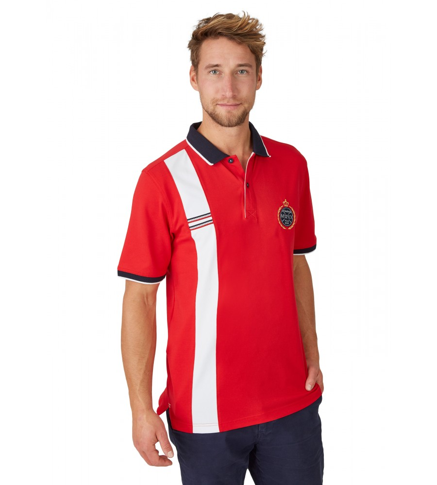 Sportliches Pikee-Poloshirt 26635-373 front