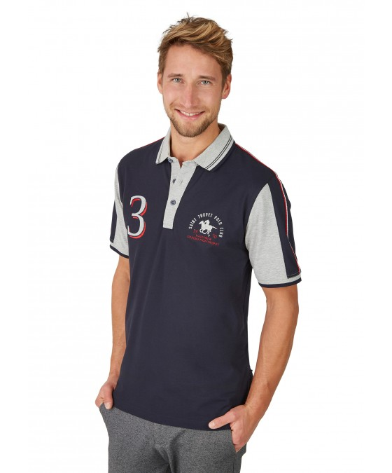 Sportliches Pikee-Poloshirt 26636-609 front