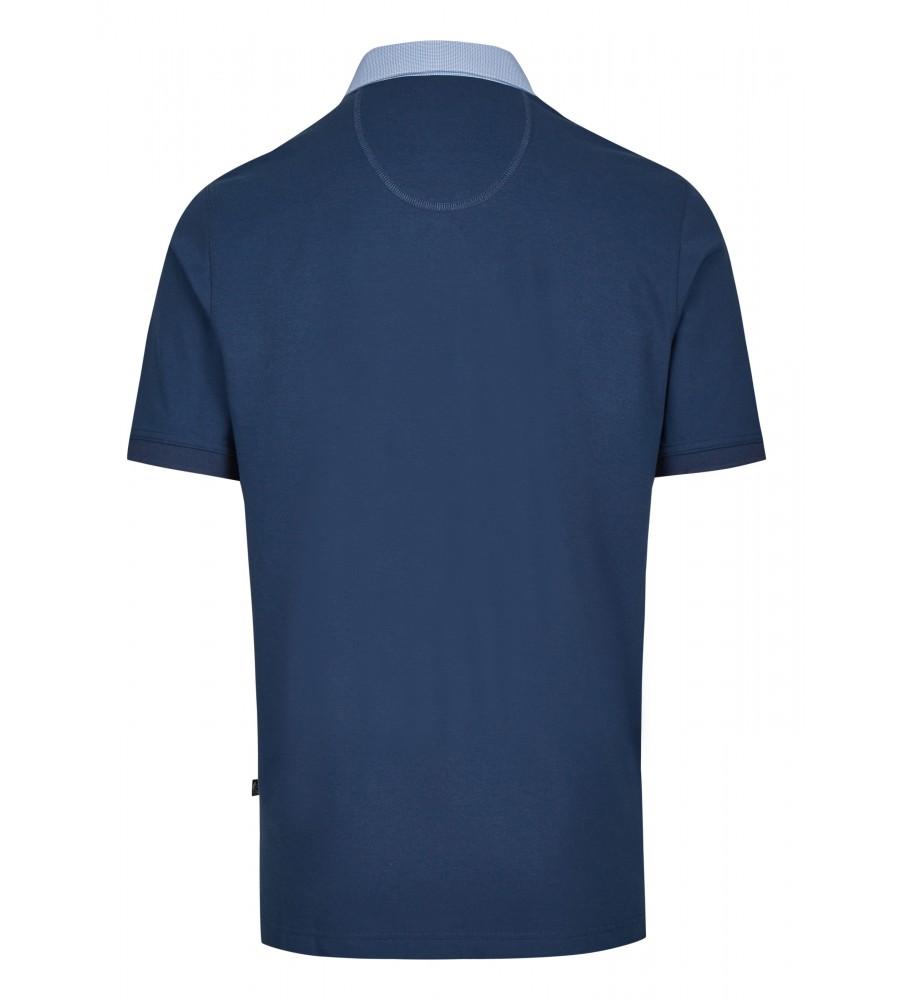 Pikee-Poloshirt mit Button-Down-Kragen 26643-638 back