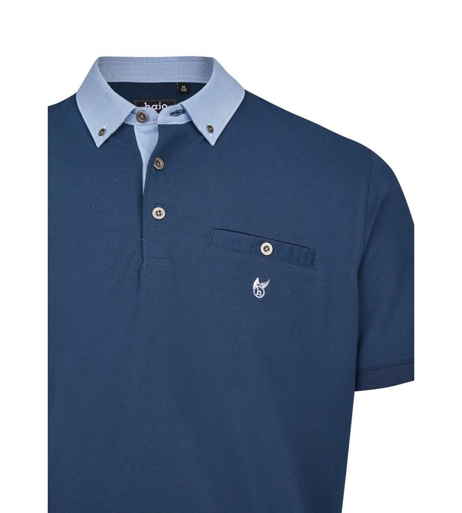 Pikee-Poloshirt mit Button-Down-Kragen 26643-638 detail1