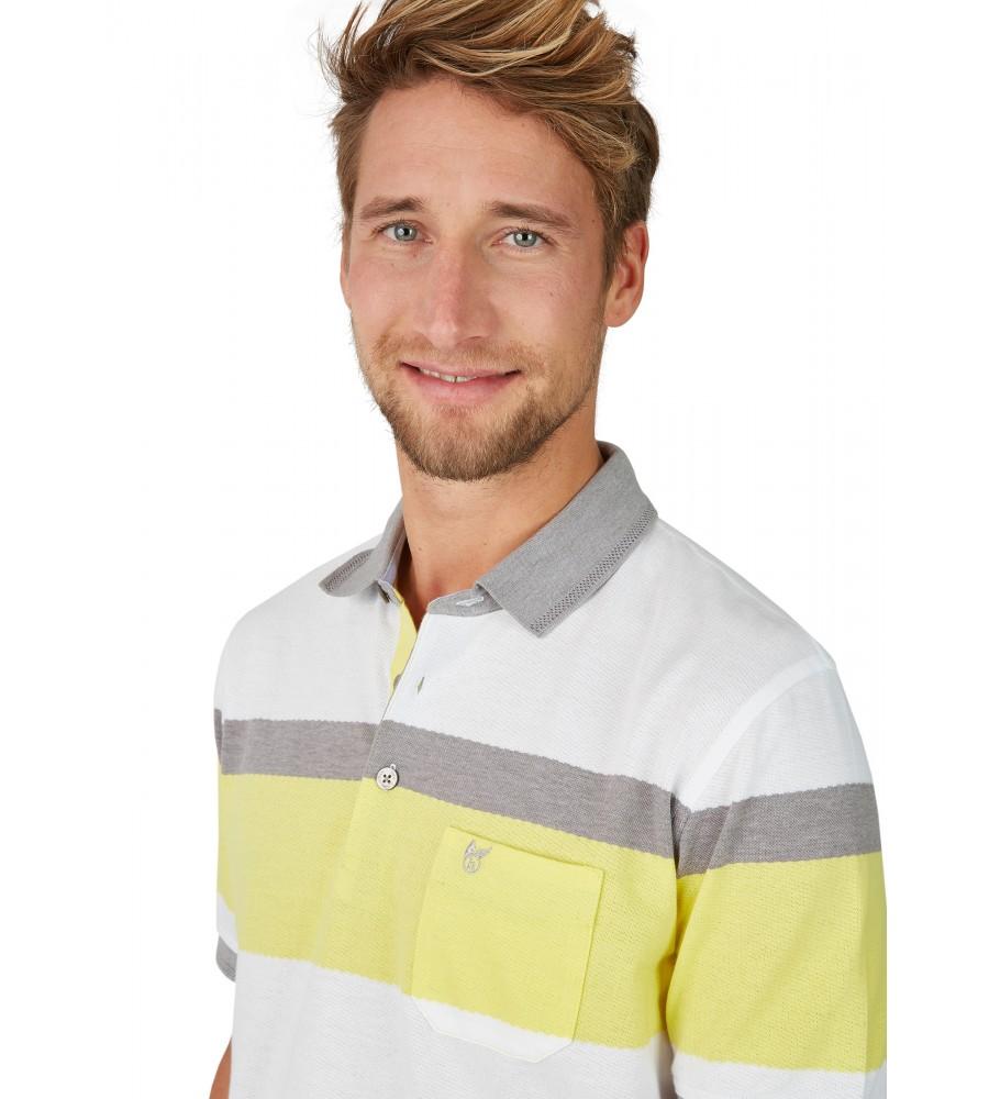 Poloshirt in trendigem Struktur-Mustermix 26644-400 detail1