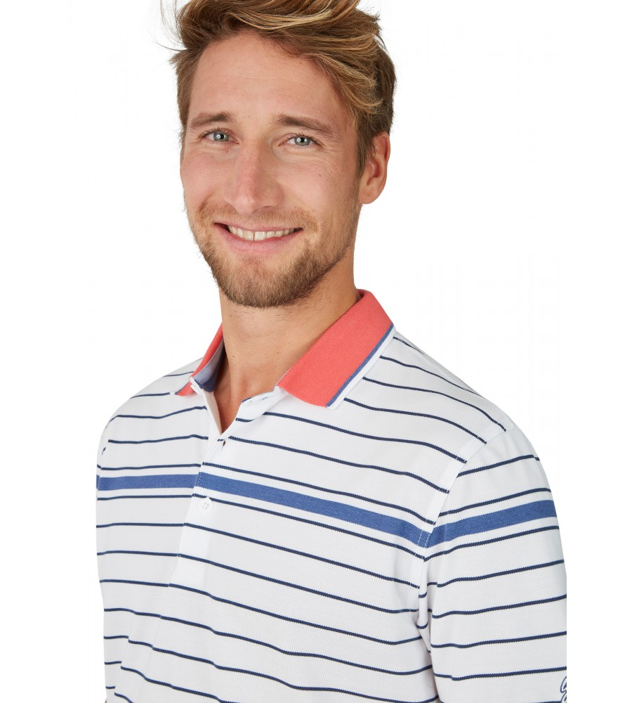 Pikee-Poloshirt mit Ringel 26646-200 detail1
