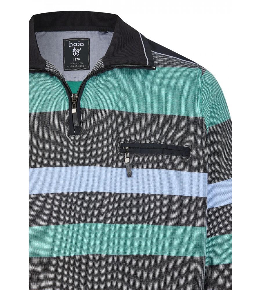 Sweatshirt mit Troyerkragen 26650-100 detail1