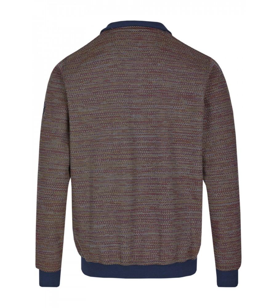 Sweatshirt mit Troyerkragen 26657-609 back