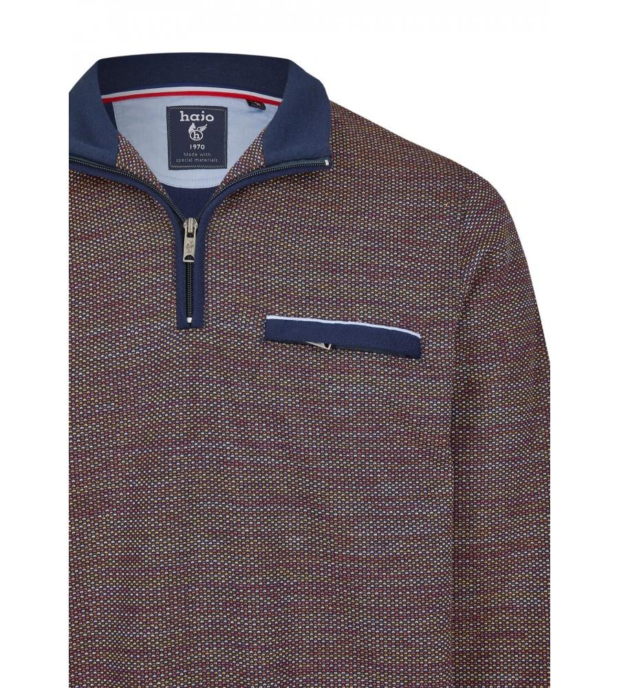 Sweatshirt mit Troyerkragen 26657-609 detail1