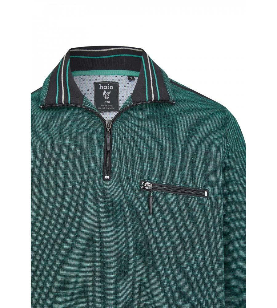 Sweatshirt mit Troyerkragen 26667-526 detail1