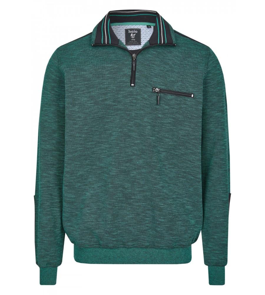 Sweatshirt mit Troyerkragen 26667-526 front