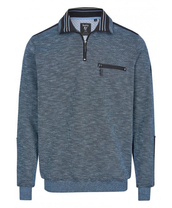 Sweatshirt mit Troyerkragen 26667-621 front