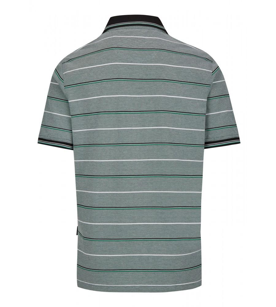 Pikee-Poloshirt in toller Zweitonoptik 26672-526 back