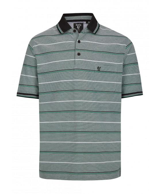 Pikee-Poloshirt in toller Zweitonoptik 26672-526 front