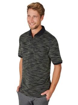 Poloshirt mit edler Oberflächenoptik