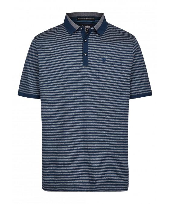 Poloshirt mit tollen Alloverringeln 26683-638 front