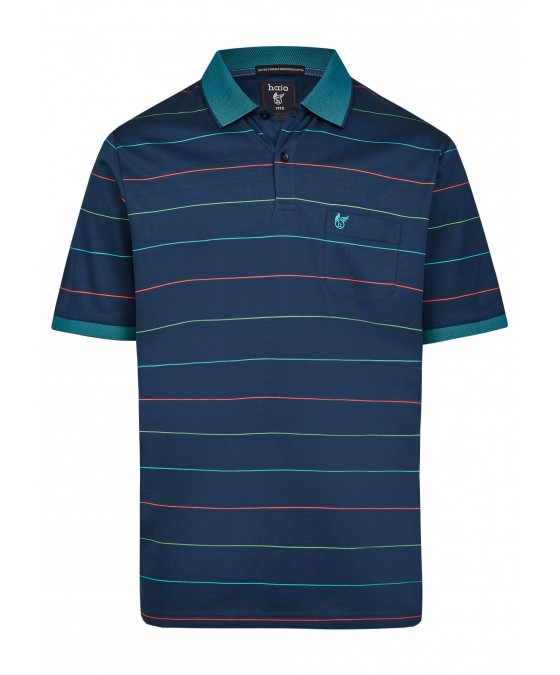 Poloshirt mit dezentem Glanz 26685-638 front