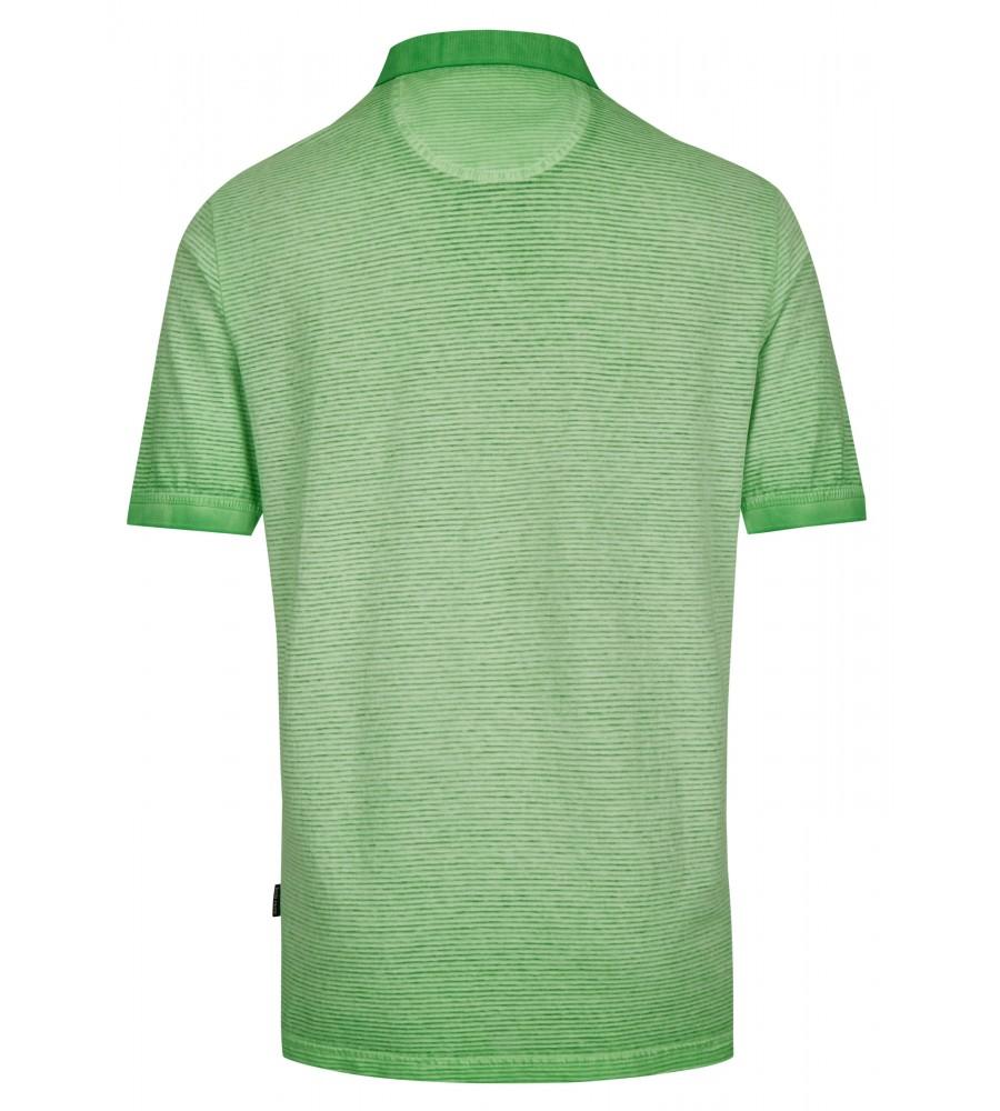 Washer-Poloshirt mit Querstruktur 26688-521 back