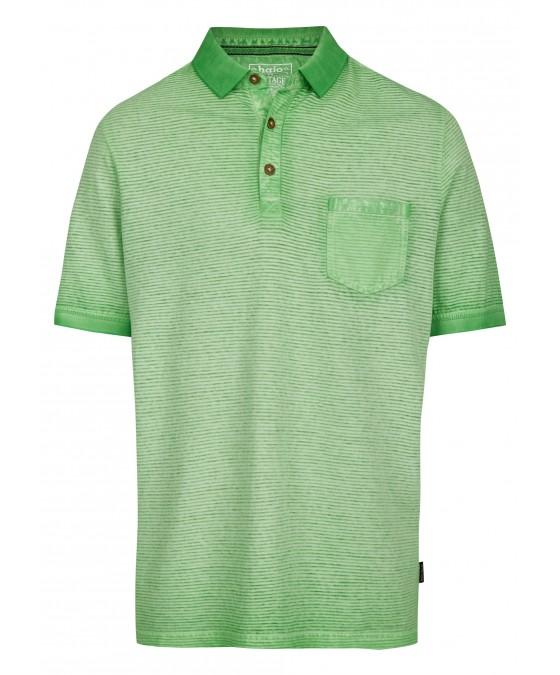 Washer-Poloshirt mit Querstruktur 26688-521 front
