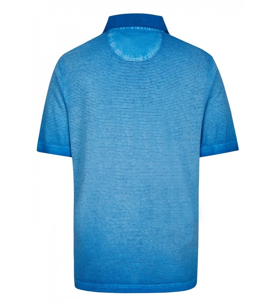 Washer-Poloshirt mit Querstruktur 26688-600 back