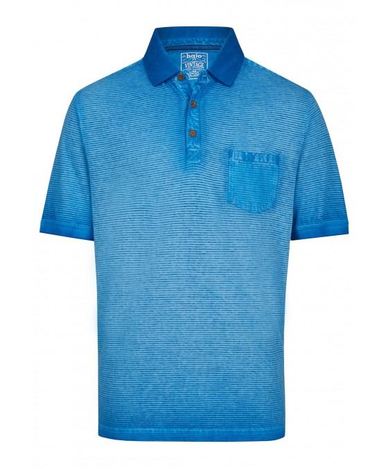 Washer-Poloshirt mit Querstruktur 26688-600 front